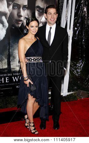 09/02/2010 - Hollywood - Emily Blunt and John Krasinski at the American Premiere of