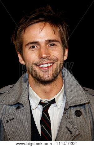 Michael Stahl-David attends the Los Angeles Premiere of