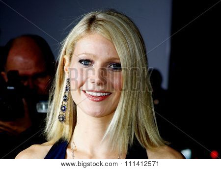Gwyneth Paltrow attends the Los Angeles Premiere of