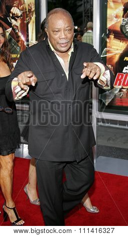 Quincy Jones attends the Los Angeles Premiere of