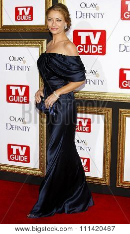 Rebecca Gayheart attends the 5th Annual TV Guide's Emmy Awards Afterparty held at the Les Deux in Hollywood, California, United States on September 16, 2007.