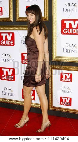 Melinda Clarke attends the 5th Annual TV Guide's Emmy Awards Afterparty held at the Les Deux in Hollywood, California, United States on September 16, 2007.