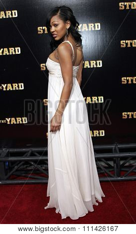January 8, 2007. Meagan Good attends the Los Angeles of