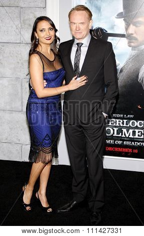 December 6, 2011. Jared Harris at the Los Angeles premiere of