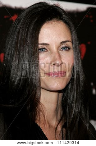 Courteney Cox Arquette attends the Los Angeles Premiere of