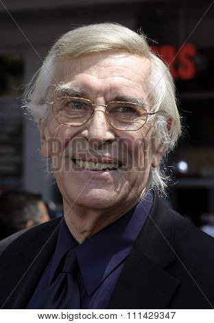 July 10, 2005. Martin Landau attends at the