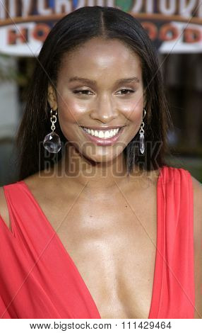 August 2, 2005. Joy Bryant attends the