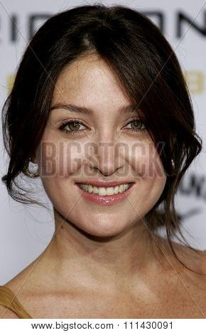 September 5, 2006. Sasha Alexander attends the Los Angeles Premiere of