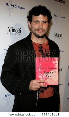 November 30, 2005. Jeremy Sisto attends the Art of Elysium Presents Russel Young