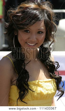 HOLLYWOOD, CALIFORNIA - June 19 2005. Brenda Song attends at the