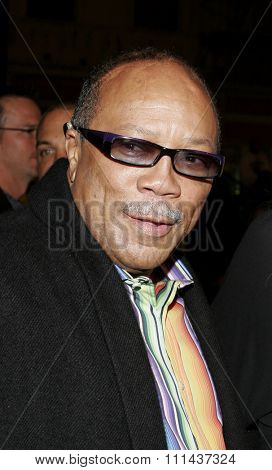 November 3, 2005 - Hollywood - Quincy Jones at the Paramount Pictures'