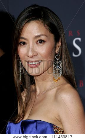 12/04/2005 - Hollywood - Michelle Yeoh attends the