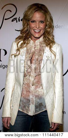 BEVERLY HILLS, CALIFORNIA. November 17, 2005. Paige Adams-Geller at the