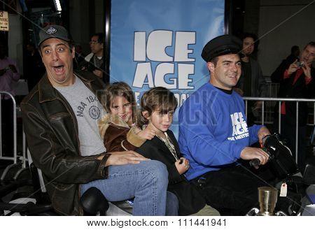 HOLLYWOOD, CALIFORNIA. March 19, 2006. Brad Garrett attends the World Premiere of