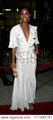HOLLYWOOD, CALIFORNIA. February 6, 2006. Joy Bryant attends the Los Premiere of
