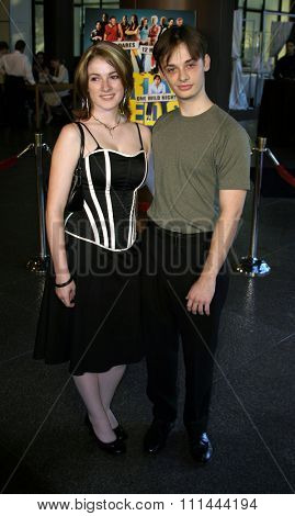 August 24, 2005 - Hollywood - Fred Meyers and Melissa Berard. The World Premiere of