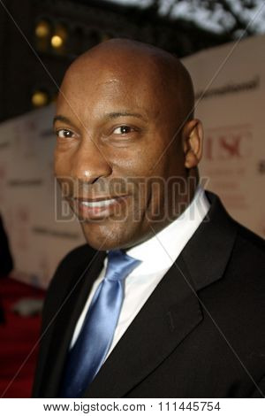 John Singleton at the 75th Diamond Jubilee Celebration for the USC School of Cinema-Television held at the USC's Bovard Auditorium in Los Angeles, United States on September 26 2004.
