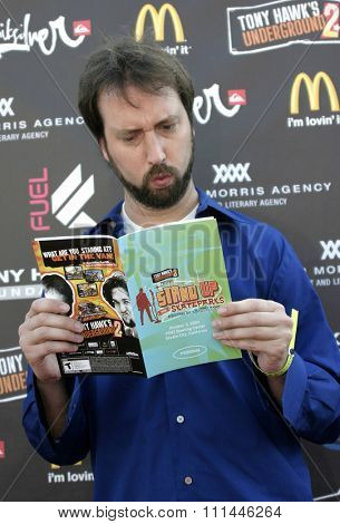 Tom Green at the Standup For Skateparks benefit held at Pinz Bowling Alley in Studio City, California on October 3, 2004.