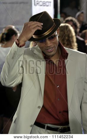 Will Smith at the Los Angeles premiere of