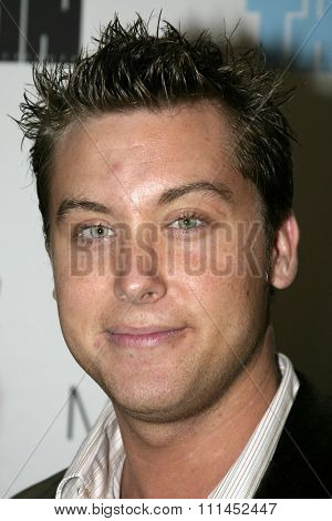 02/25/2005 - West Hollywood - Lance Bass at the Trident White