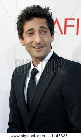 10 June 2004 - Hollywood, USA - Adrien Brody. 32nd AFI Life Achievement Award: A Tribute to Meryl Streep at the Kodak Theatre, Hollywood & Highland.