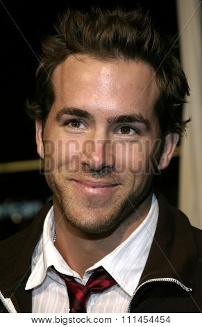 03/23/2005 - Hollywood - Ryan Reynolds at the