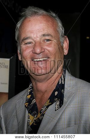 HOLLYWOOD, CALIFORNIA. April 17, 2006. Bill Murray attends the Los Angeles Premiere of