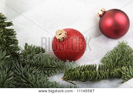 Blured Xmas Bauble