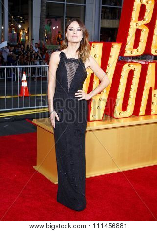 Olivia Wilde at the Los Angeles premiere of 'The Incredible Burt Wonderstone' held at the TCL Chinese Theater in Los Angeles, United States, 11/03/2013.