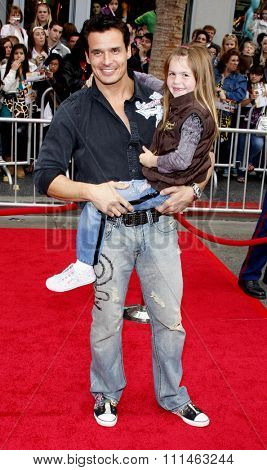 Antonio Sabato Jr at the Los Angeles premiere of 'Hannah Montana The Movie' held at the El Capitan Theater in Hollywood on April 4, 2009.