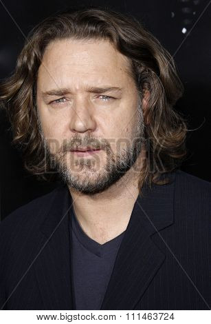 Russell Crowe attends the Los Angeles Premiere of
