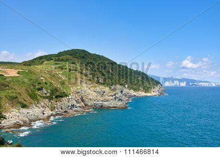 Igidae Coastline And Seaside Of Haeundae District