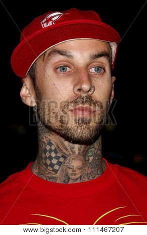 Travis Barker attends the LG Electronics' (LG) Launch of the