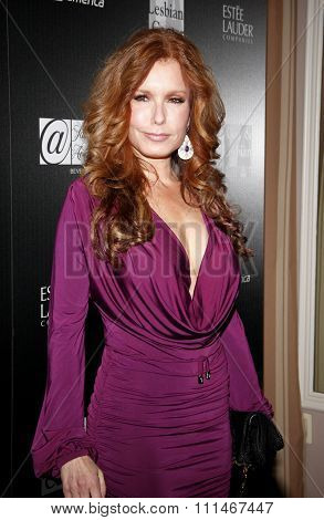 Tracey E. Bregman at the Los Angeles Gay And Lesbian Center Homeless Youth Services Benefit held at the Sunset Tower in West Hollywood on January 23, 2012.