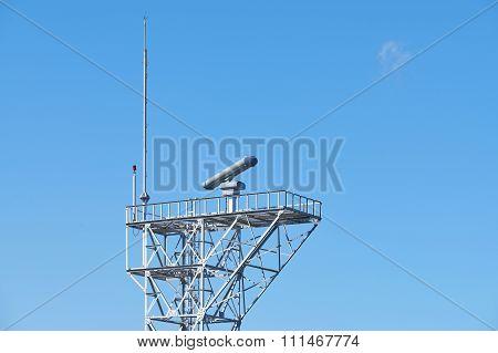 Radar Equipment On A Tower