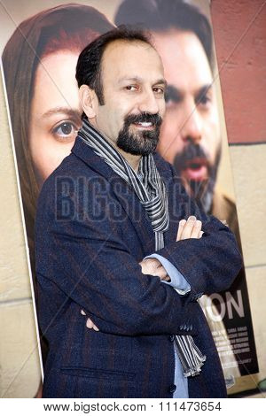 Asghar Farhadi at the American Cinematheque's 69th Annual Golden Globe Awards Foreign-Language Nominee Event held at the Egyptian Theater on January 15, 2012.