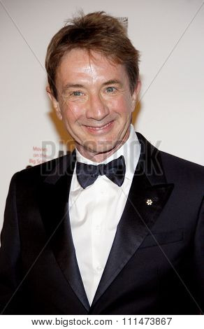 Martin Short at the American Cinematheque 26th Annual Award Presentation held at the Beverly Hilton Hotel in Beverly Hills on November 15, 2012.