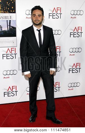 Juan Antonio Bayona at the AFI FEST 2012 Special Screening of 'The Impossible' held at the Grauman's Chinese Theatre in Hollywood on November 4, 2012.