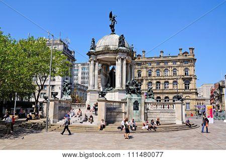 Queen Victoria Monument, Liverpool.