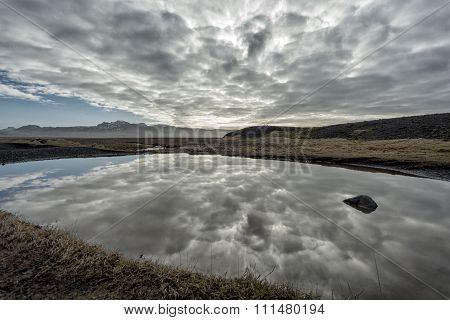 Coastal Landscape In Iceland
