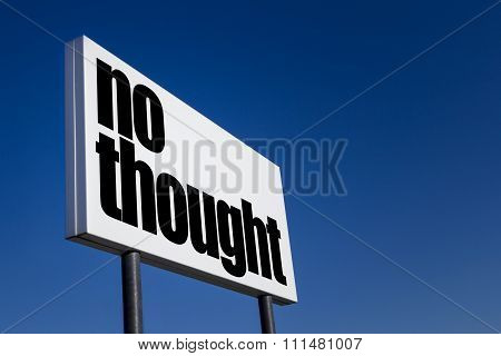 No Thought