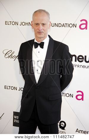 John Waters at the 21st Annual Elton John AIDS Foundation Academy Awards Viewing Party held at the Pacific Design Center in West Hollywood on February 24, 2013.