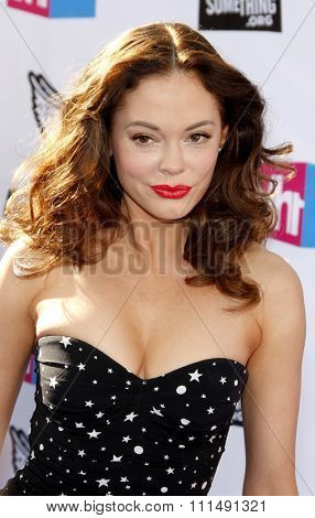 Rose McGowan at the 2011 Do Something Awards held at the Hollywood Palladium in Hollywood on August 14, 2011.