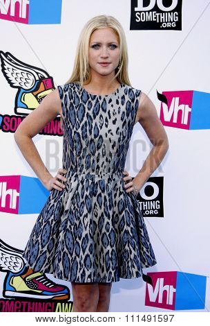Brittany Snow at the 2011 Do Something Awards held at the Hollywood Palladium in Hollywood on August 14, 2011.