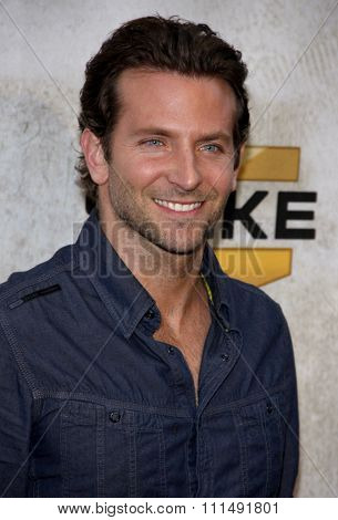 Bradley Cooper at the 2010 Spike TV's Guys Choice Awards held at the Sony Pictures Studios in Culver City on June 5, 2010.