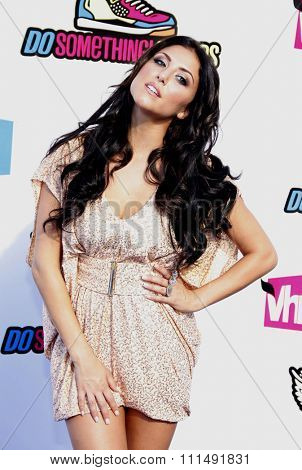 Cassie Scerbo at the 2011 Do Something Awards held at the Hollywood Palladium in Hollywood on August 14, 2011.