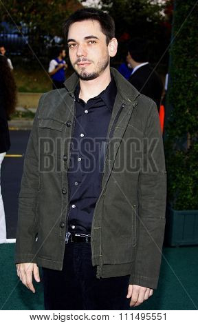 DJ AM aka Adam Goldstein at the 2007 Environmental Media Awards held at the Ebell Club in Los Angeles on October 24, 2007.
