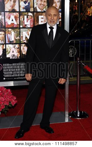 Hector Elizondo at the Los Angeles premiere of 'Valentine's Day' held at the Grauman's Chinese Theater in Hollywood, California, USA on February 8, 2010.