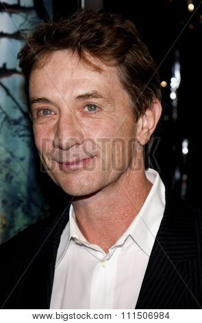 Martin Short at the Los Angeles premiere of 'The Spiderwick Chronicles'  held at the Paramount Studios in Hollywood on January 29, 2008.