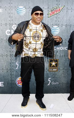 LL Cool J at the 2015 Spike TV's Guys Choice Awards held at the Sony Pictures Studios in Culver City, USA on June 6, 2015.